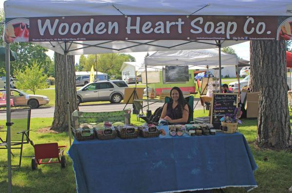 Wooden Heart Soaps