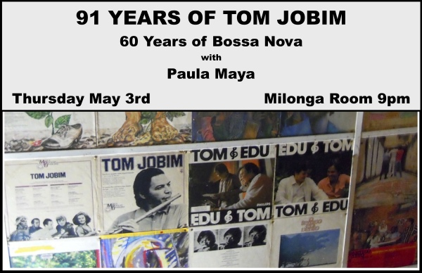91 Years Of Tom Jobim 60 Years of Bossa Nova