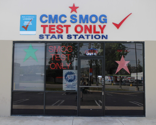 CMC Smog Test Only Star Station