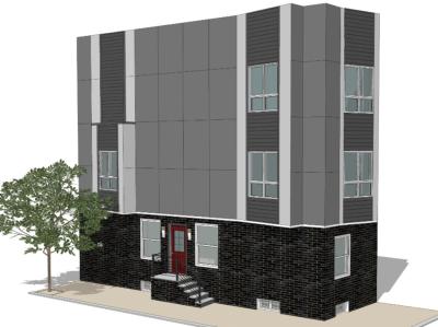 3D renerings. Single Family Home