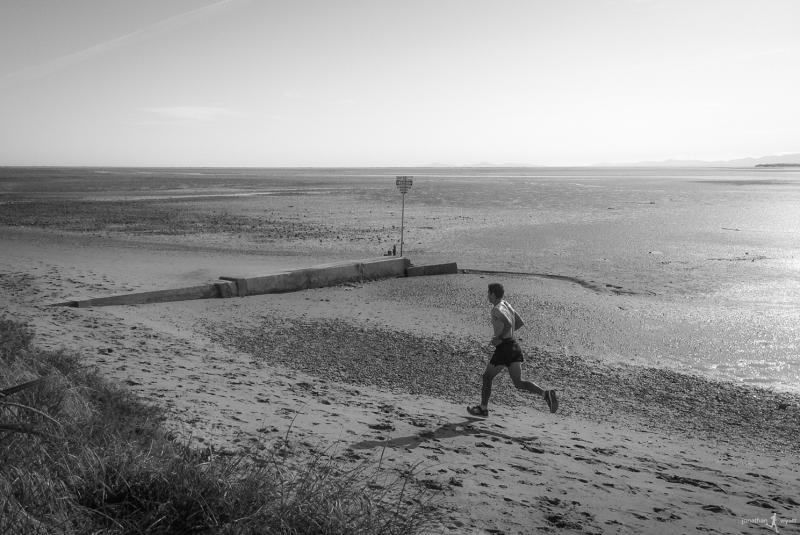motueka, tidal beach running wonderfulness