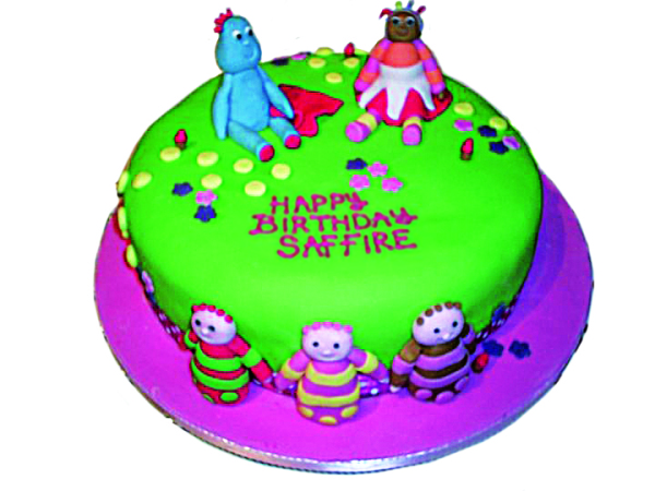 Children's in the night garden cake.