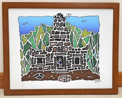 'Khmer Sanctuary' framed