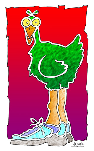 Joggin' Bird