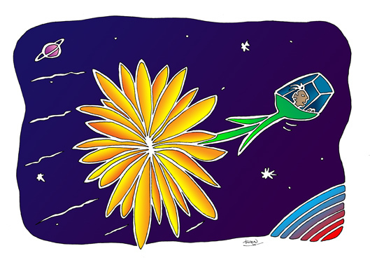 Space Flower