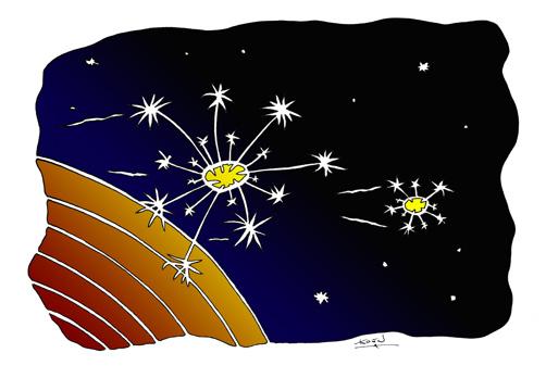 Space Dandelion