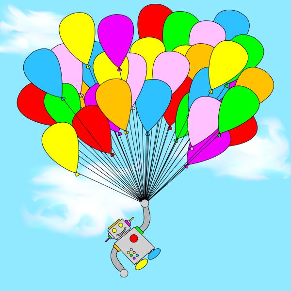 Balloon Robot