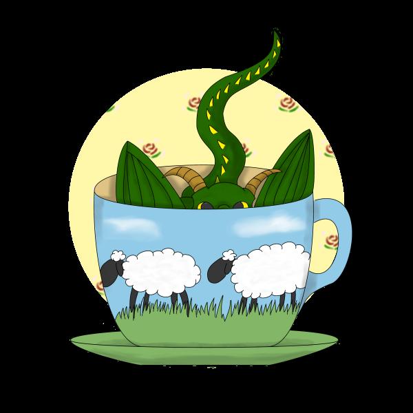 Dragon in a Tea Cup