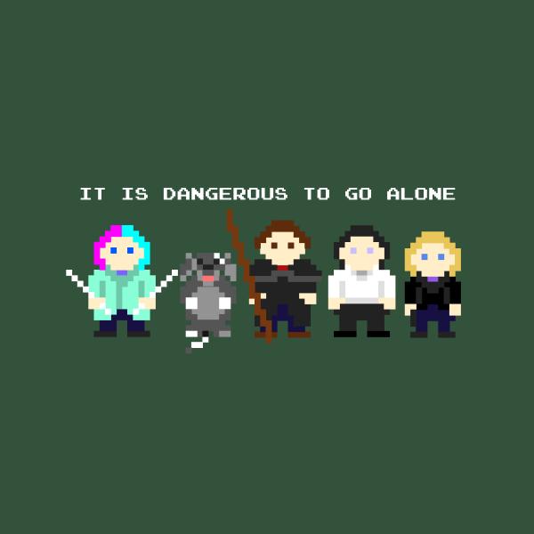 Team Dresden: Dangerous to go alone