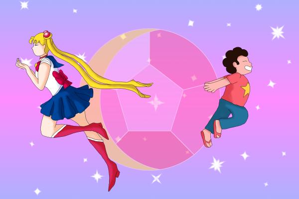 Sailor Moon and Steven Universe
