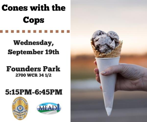 CONES WITH COPS!