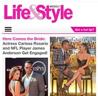 Life & Style Magazine, Carissa Rosario, James Anderson