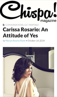 Chispa Magazine, Carissa Rosario