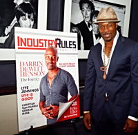 Industry Rules Magazine, Actor Darrin Henson