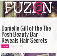 Posh Beauty Bar, Fuzion Magazine