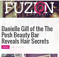 Posh Beauty Bar, Fuzion Magazine