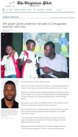 NFL Saints,James Anderson,The Virginian Post,