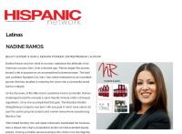 Nadine Ramos , Tene Nicole, Beauty Expert, Lasio Hair Care