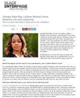 Black Enterprise, Tene Nicole, LaDawn Blackett Jones, LaDawn Jones, Public Relations