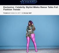 Mieka Reese, Mieka Joy, Celebrity Stylist, Fashion Designer, Public Relations
