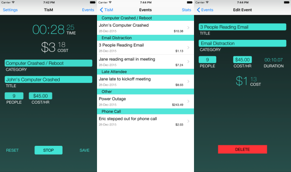 TisM Productivity App