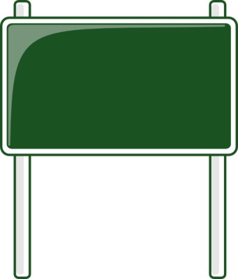 Services Green Road Sign Png