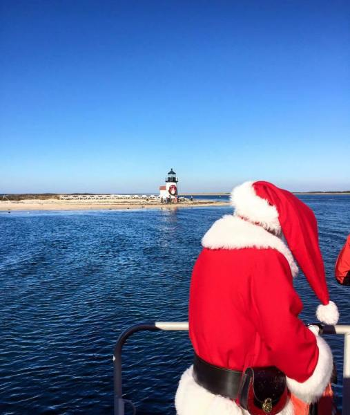 The Christmas Stroll on Nantucket