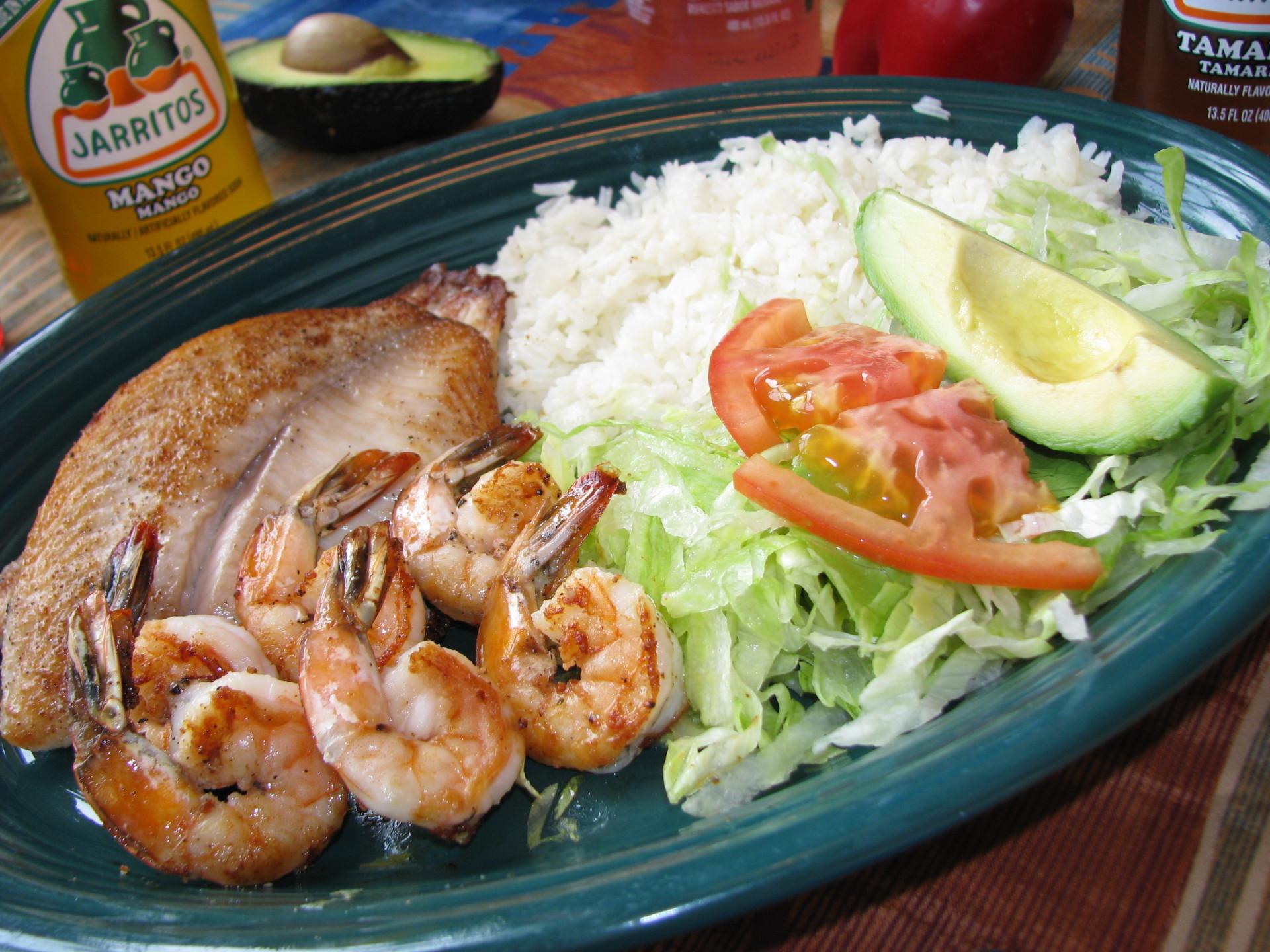 Tilapia & Shrimp