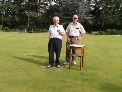 Chairman David Shaw & Winner Ken Moore