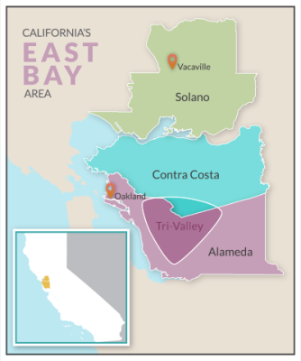 Visit the East Bay Area: Contra Costa and Alameda County