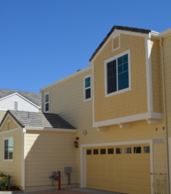 Just Sold!  Brand New Chesapeake Village Townhome located in Napa Lot 12