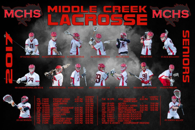 Middle Creek Lacrosse Makes History