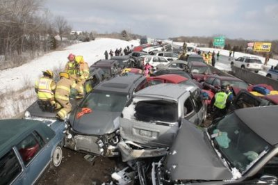 70-car pile-up includes Dancing with the Stars members