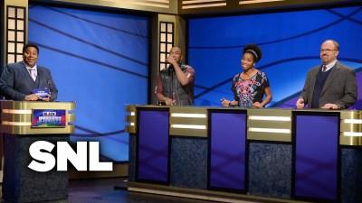 Black Panther plays Black Jeopardy on SNL