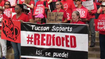 Arizona teachers continue walkout