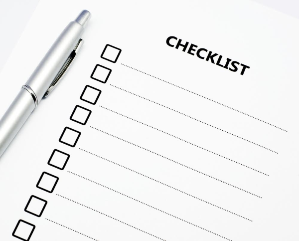 The Checklist