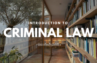 An introduction to the study of Criminal Law in Australia.