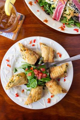 Southern Chicken Egg Rolls