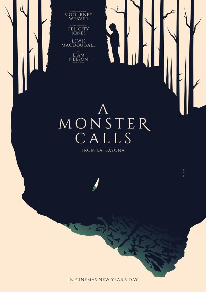 A Monster Calls - J.A. Bayona