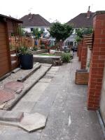 Dogfather side garden