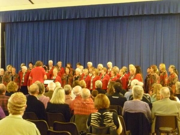 The Choir visit Penzance