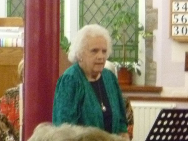 Musical Celebration for Peggy Spires