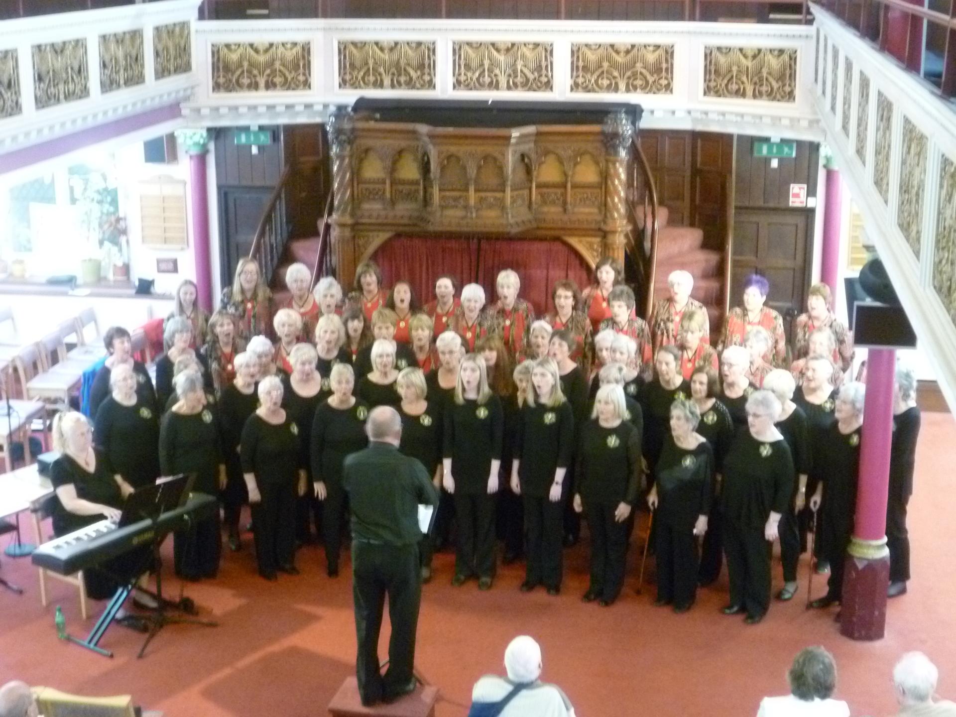 Concert with the Penzance Orpheus Ladies Choir