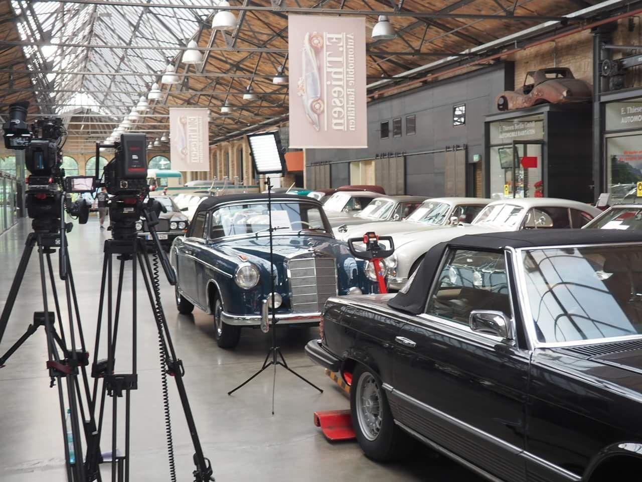 המכוניות במוזיאון קלאסיק רמיזה. צילום: אייל נחשון 