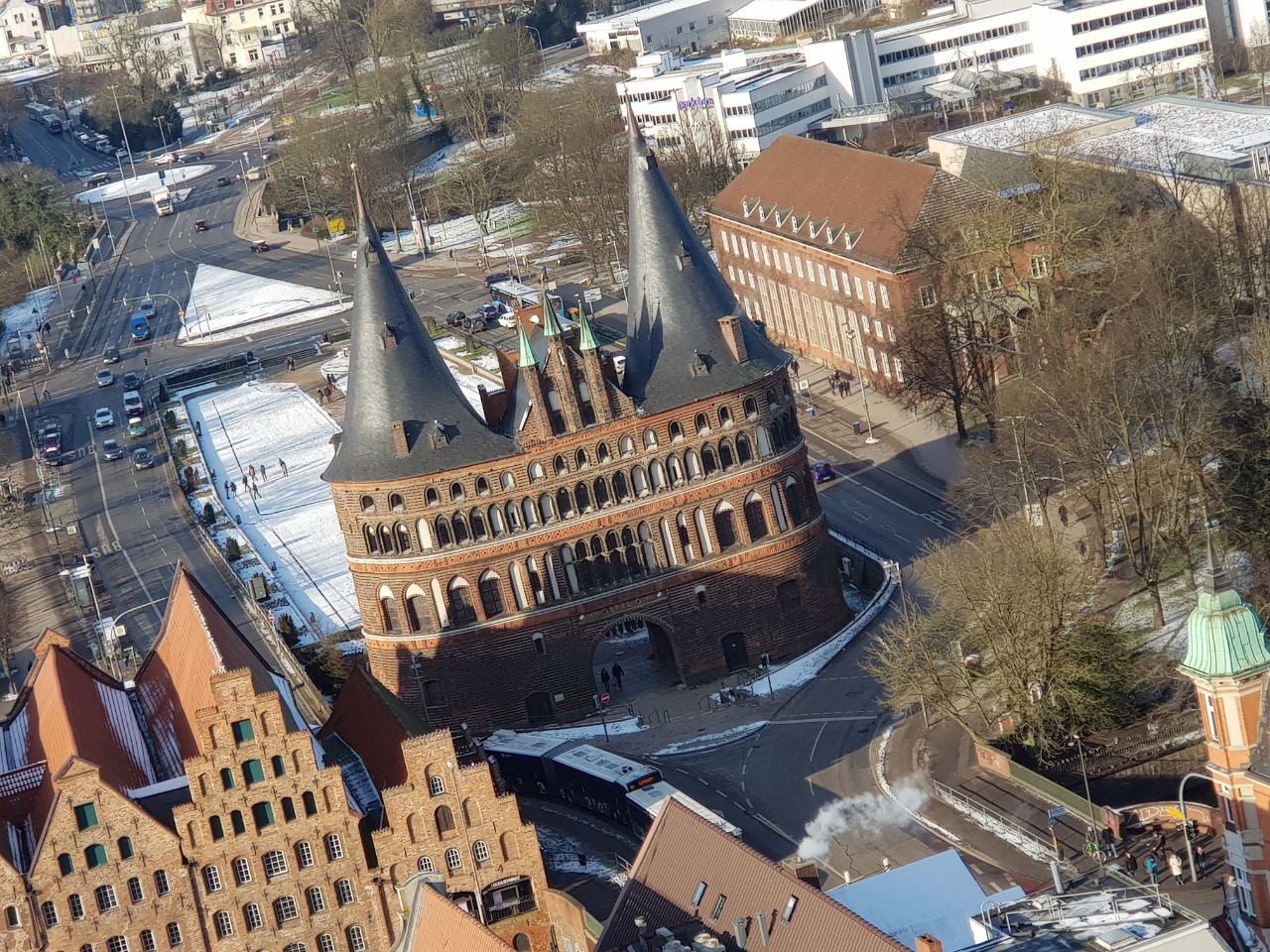 Lübeck מחוץ לברלין - העיר העתיקה של