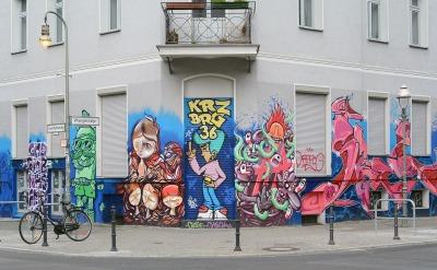 שכונת קרויצברג בברלין