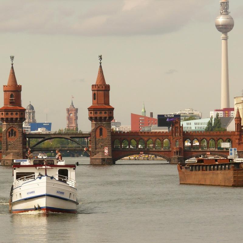 ברלין על המים - שייט בברלין