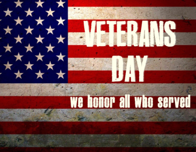 Happy Veteran's Day from HHF