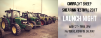 Launch Night Connacht Sheep Shearing 2017