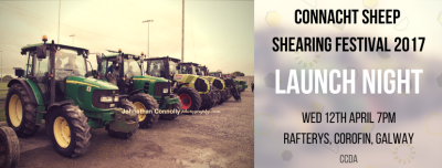Launch Night Connacht Sheep Shearing 2017